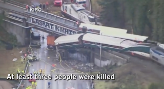 Rail experts ask why new track in Washington state Amtrak crash did not have speed control system