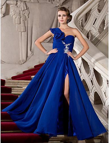 vestidos de 15 años azules rey