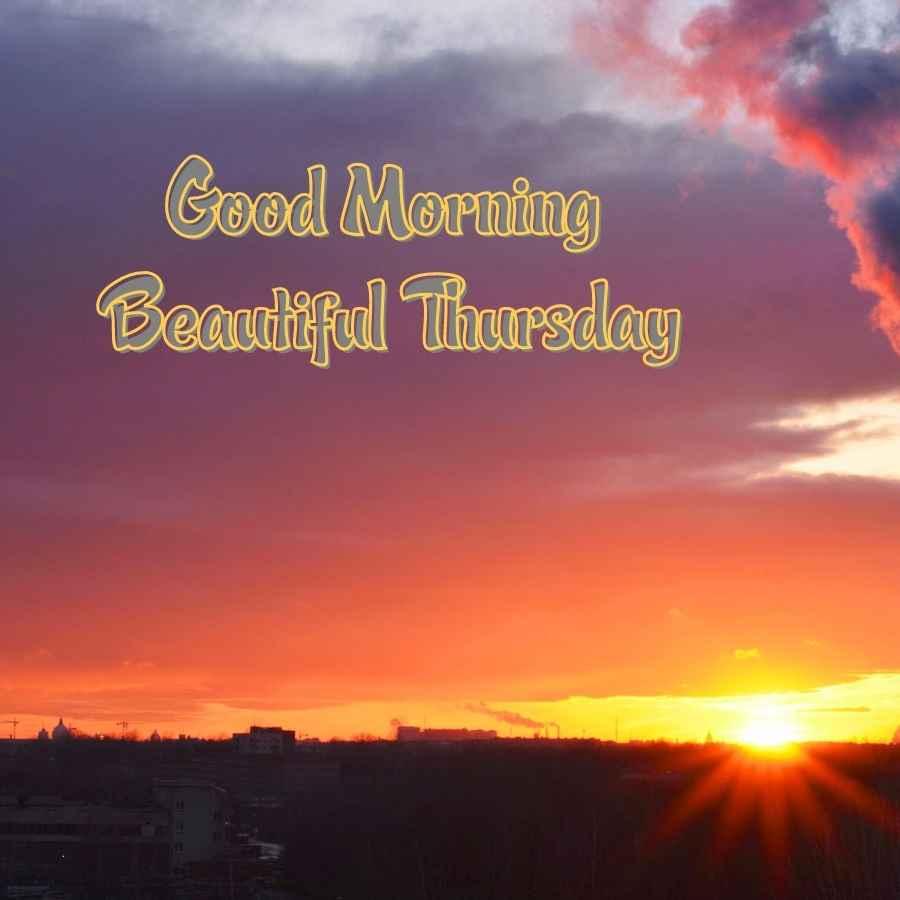 good morning wishes thursday