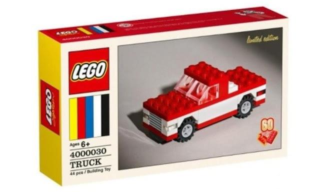 Lego 4000030: 60th Anniversary Classic Truck