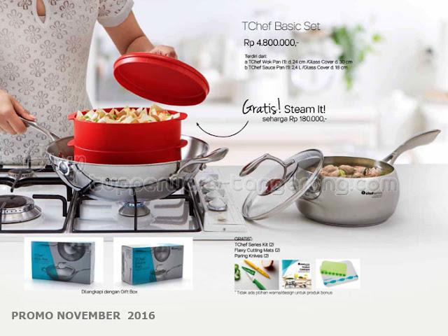 TChef Basic Set Promo Tupperware November 2016