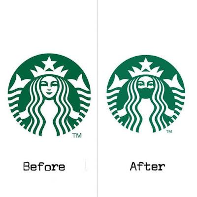 Marcas mudam logos para conscientizar sobre distanciamento social