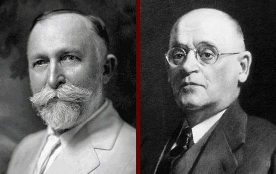 The Kellogg brothers. Dr. John Harvey Kellogg and Will Keith Kellogg