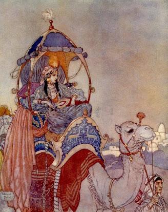 Arabian Nights by by Edmund Dulac