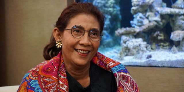 Susi Pudjiastuti Memohon Pada Megawati Untuk Hentikan Impor Beras Dan Garam