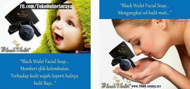 Manfaat Sabun Black Walet Facial Soap Bagi Kulit