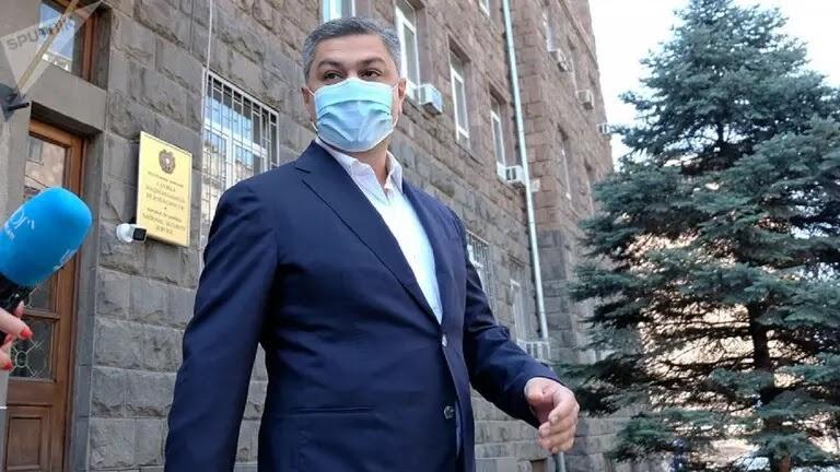 Armenia arrests former head of the National Security Agency - Artur Vanitsyan