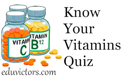 Biology: Know Your Vitamin Quiz (#biology)(#NEET)(#PreMedical)(#Class12Biology)(#compete4exams)(#eduvictors)