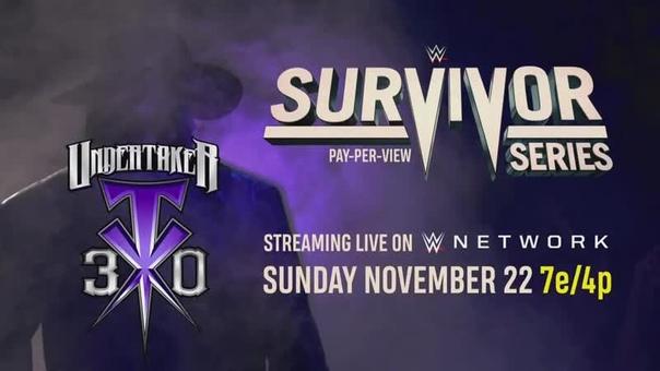 WWE Network готовится к празднованию юбилея Гробовщика