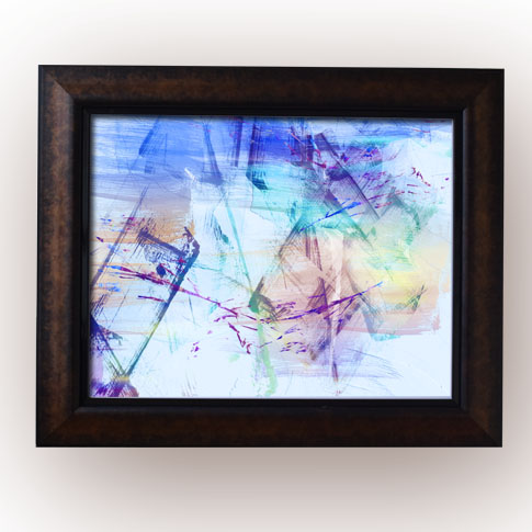 Abstract Watercolor Framed Print,Wall Frame in Port Harcourt, Nigeria