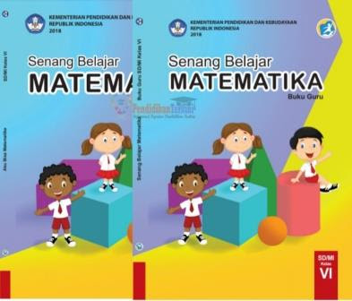 Download Buku Matematika Kelas 6 Sd Mi Kurikulum 2013 Revisi 2018 Pendidikanterkini
