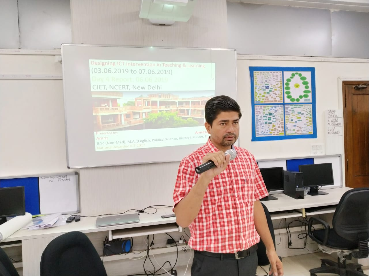 Presentation at CIET, New Delhi