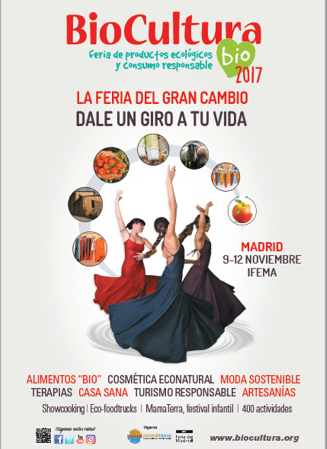 Propuestas y actividades non-stop de moda sostenible y ecoestética en BioCultura Madrid
