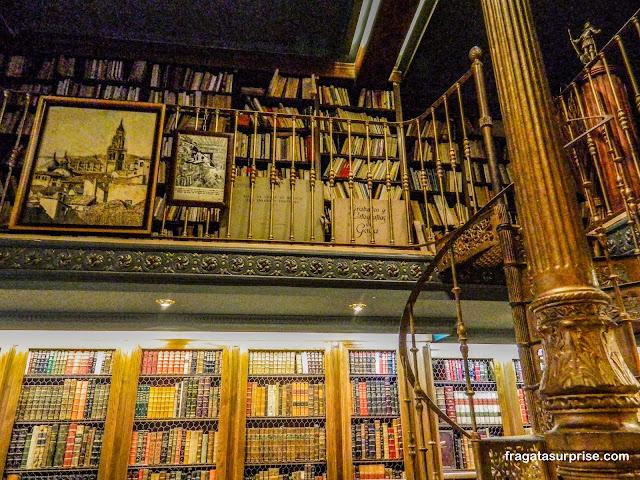 Livraria no Bairro das Letras, Madri
