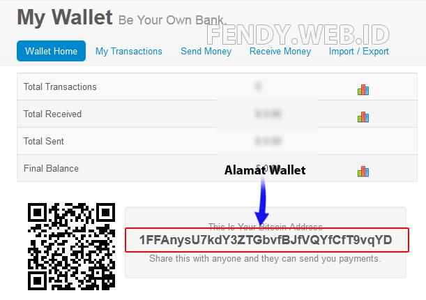 cara membuat wallet bitcoin