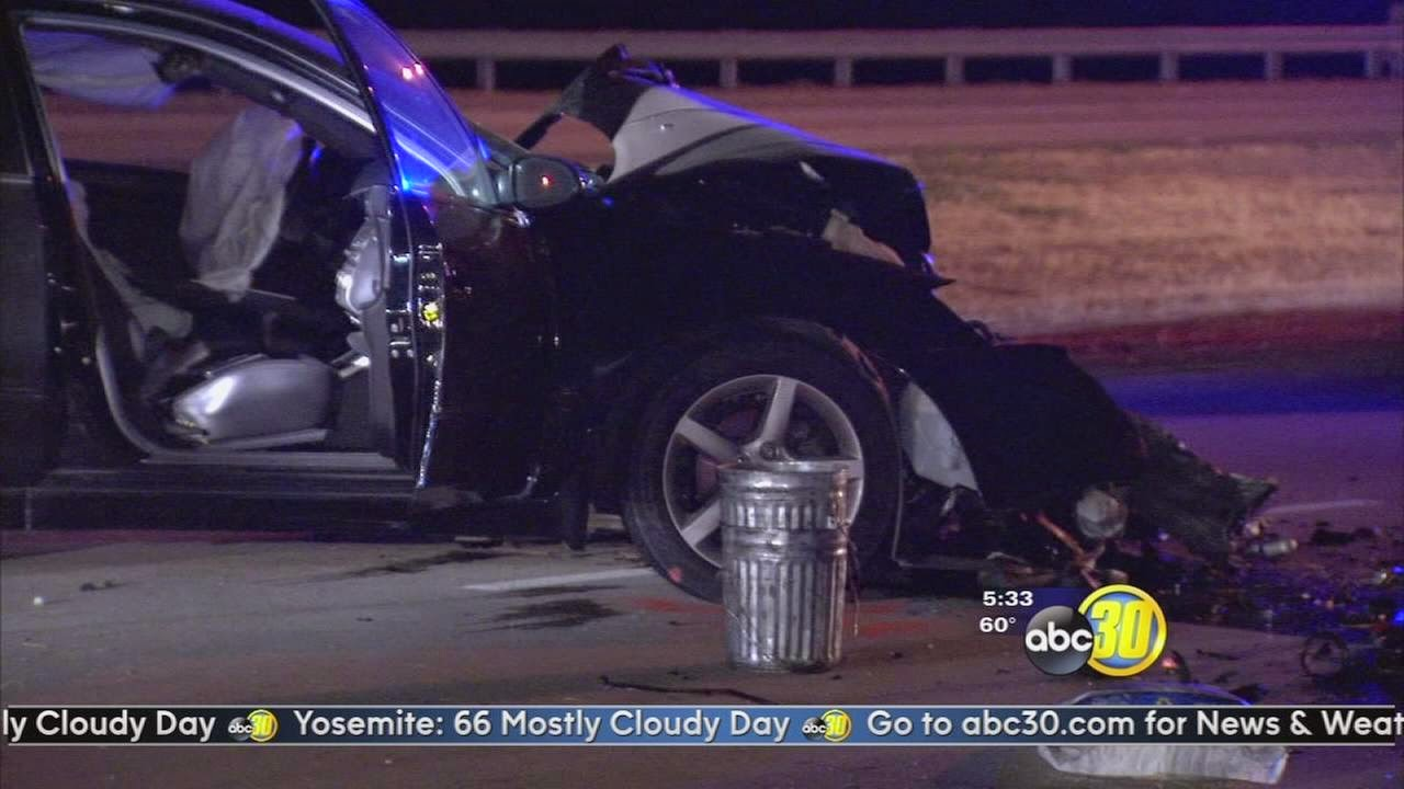 Fresno Visalia Bakersfield Accidents: Head-on Car Collision