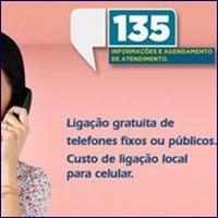 Agendamento, Telefone 135, Previdência Social, INSS