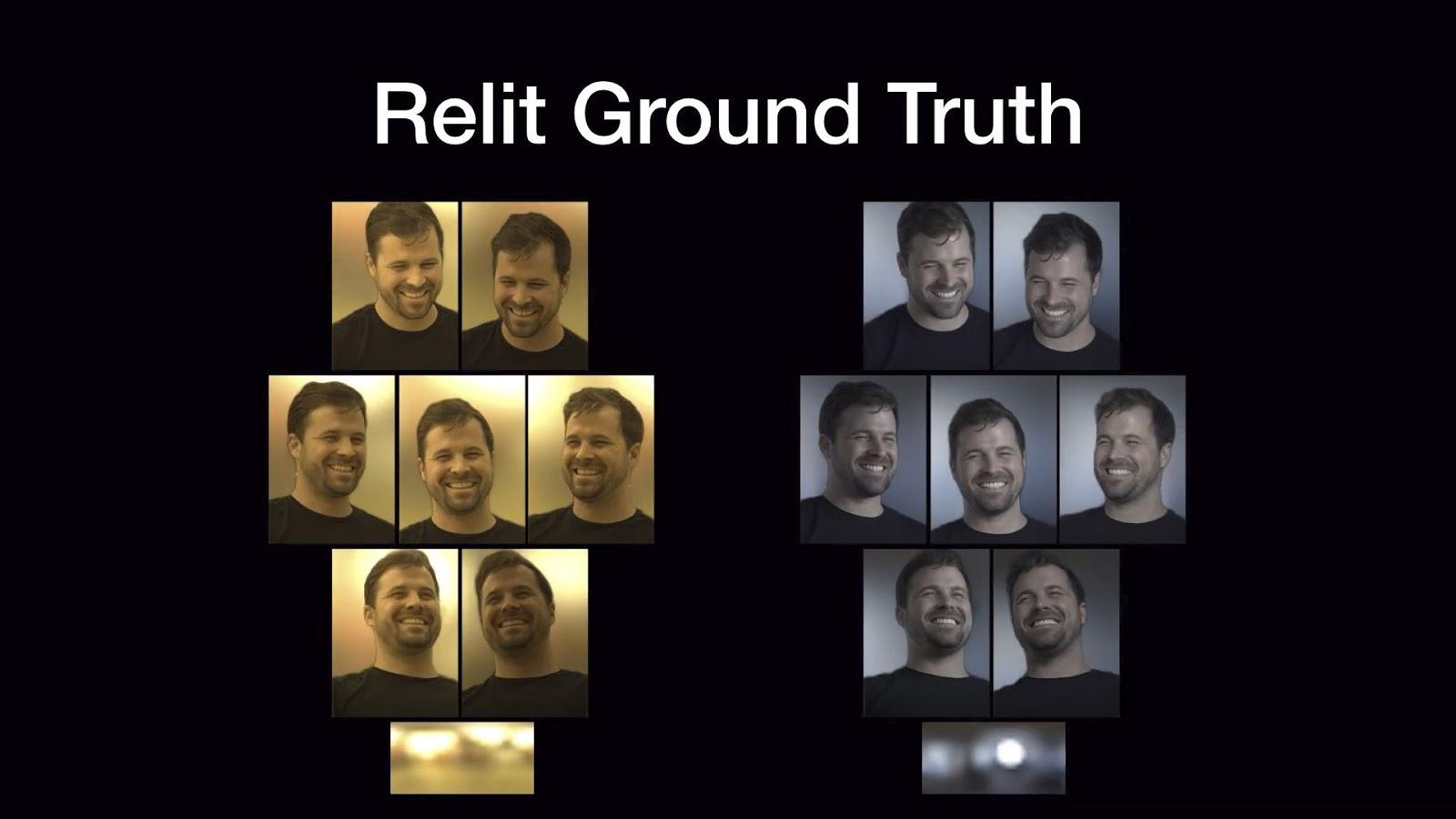Изменение освещения портрета с помощью нейросети