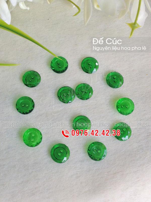 Đế cúc xanh - Nguyên liệu hoa pha lê