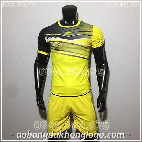 Áo bóng đá ko logo Zuka Korel màu vàng