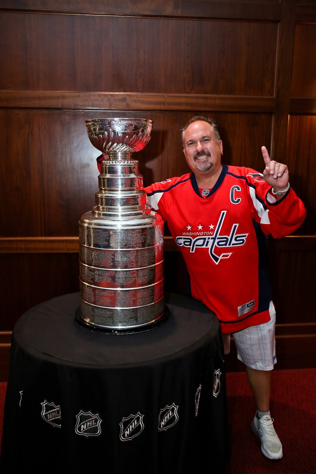 I KISSED THE STANLEY CUP!