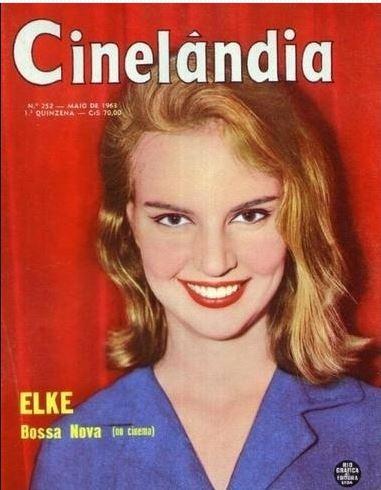 Elke Maravilha jovem em capa de revista da época, biografia