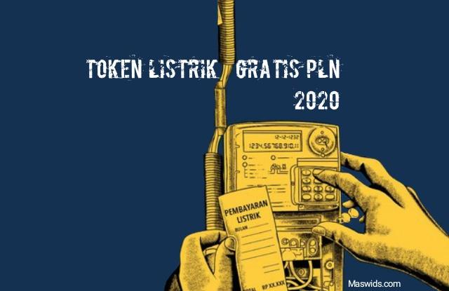 token listrik gratis pln via www.pln.co.id