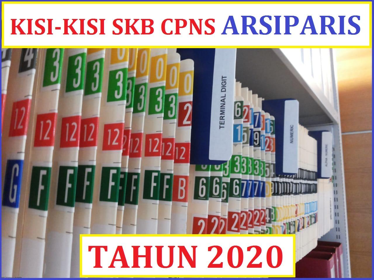 KISI-KISI dan CONTOH SOAL TKB CPNS Arsiparis 2020. Lihat ...
