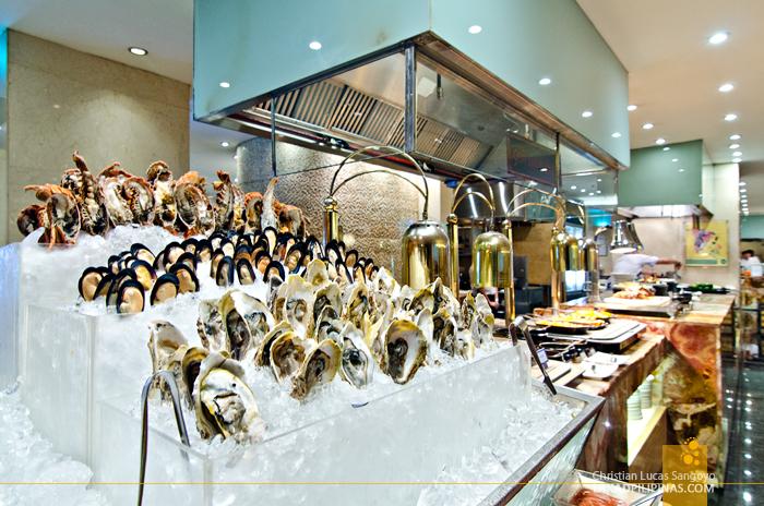 Marriott Café Manila Seafood Section