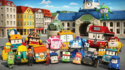 Robocar Poli and friends