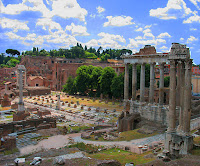 The Forum was the centre of life in Ancient Rome