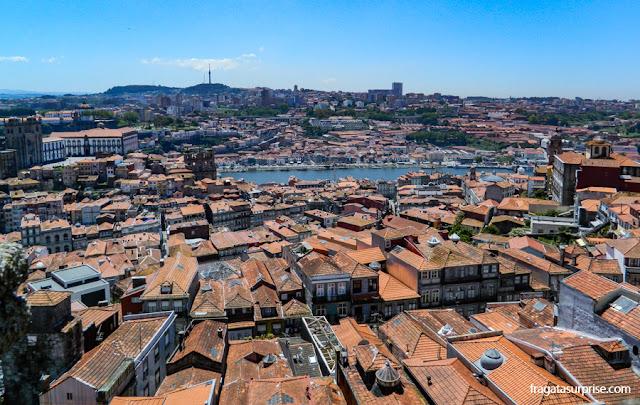 O Porto visto do alto da Torre dos Clérigos