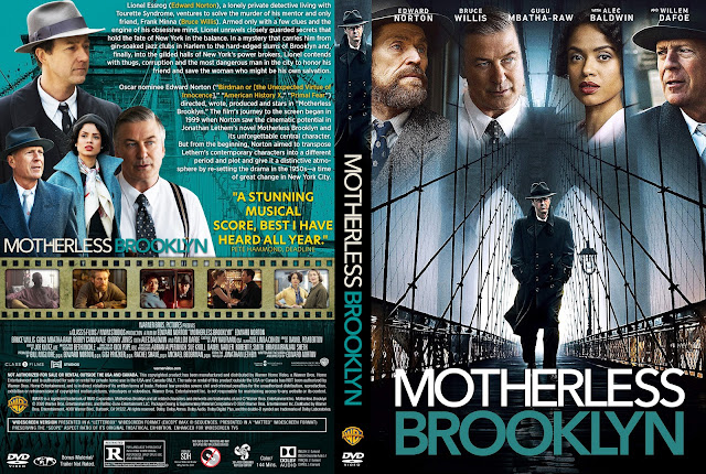 Motherless Brooklyn DVD Cover