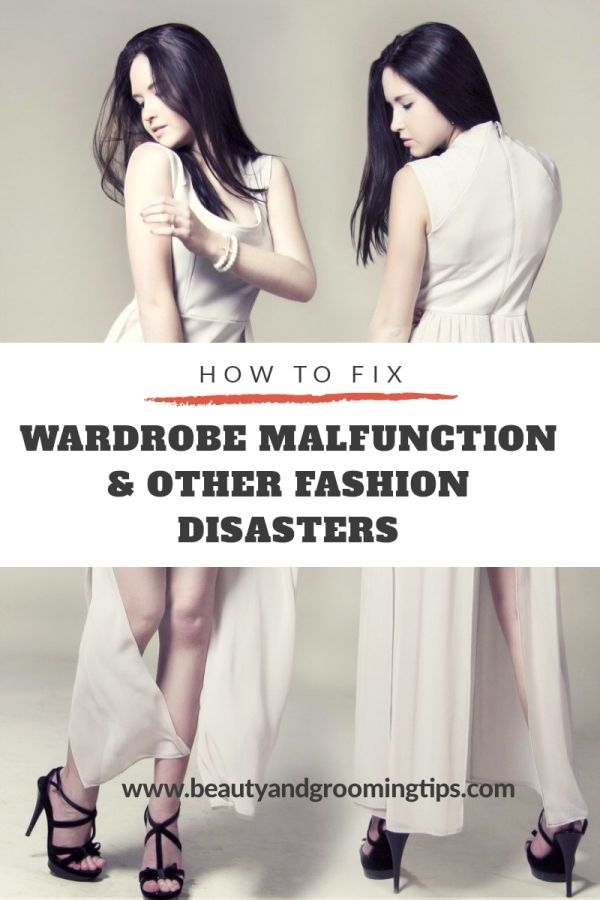 women worried about wardrobe malfunction or fashion disaster