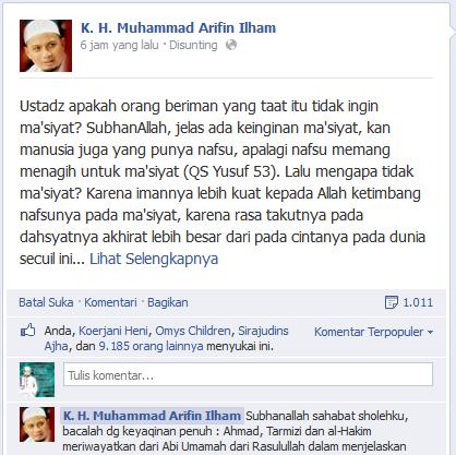 status terbaik di facebook