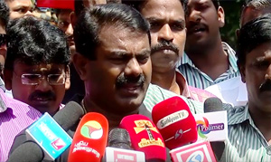 We have Not Lost In The Election – But Its a Beginning – Naam Tamilar Seeman
