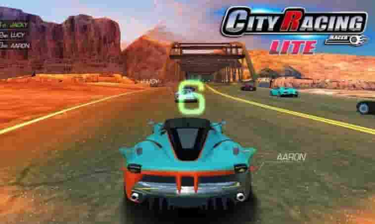 City Racing Lite MOD Apk (Unlimited Resources)
