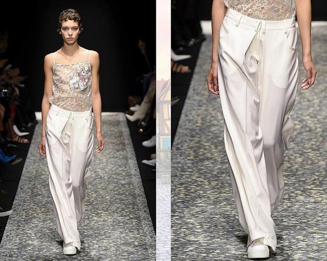 Белые брюки 1