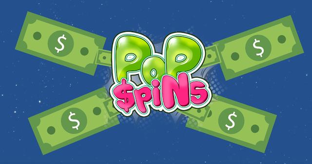 الحصول على المال من الانترنت بااستخدام موقع  popspins