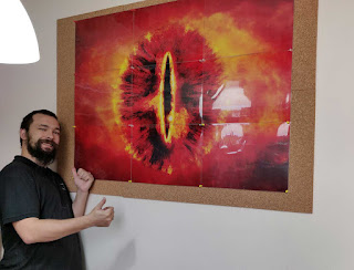 The Eye is back on the wall
