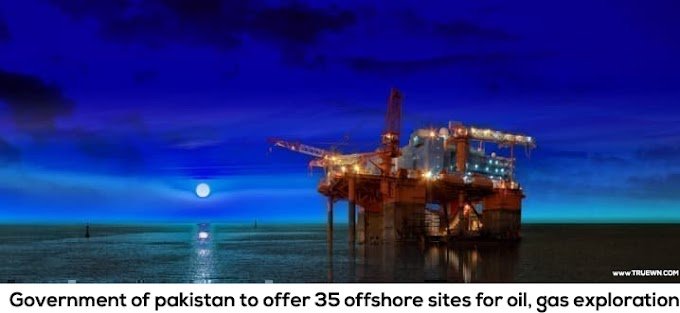 Government of pakistan to offer 35 offshore sites for oil, gas exploration