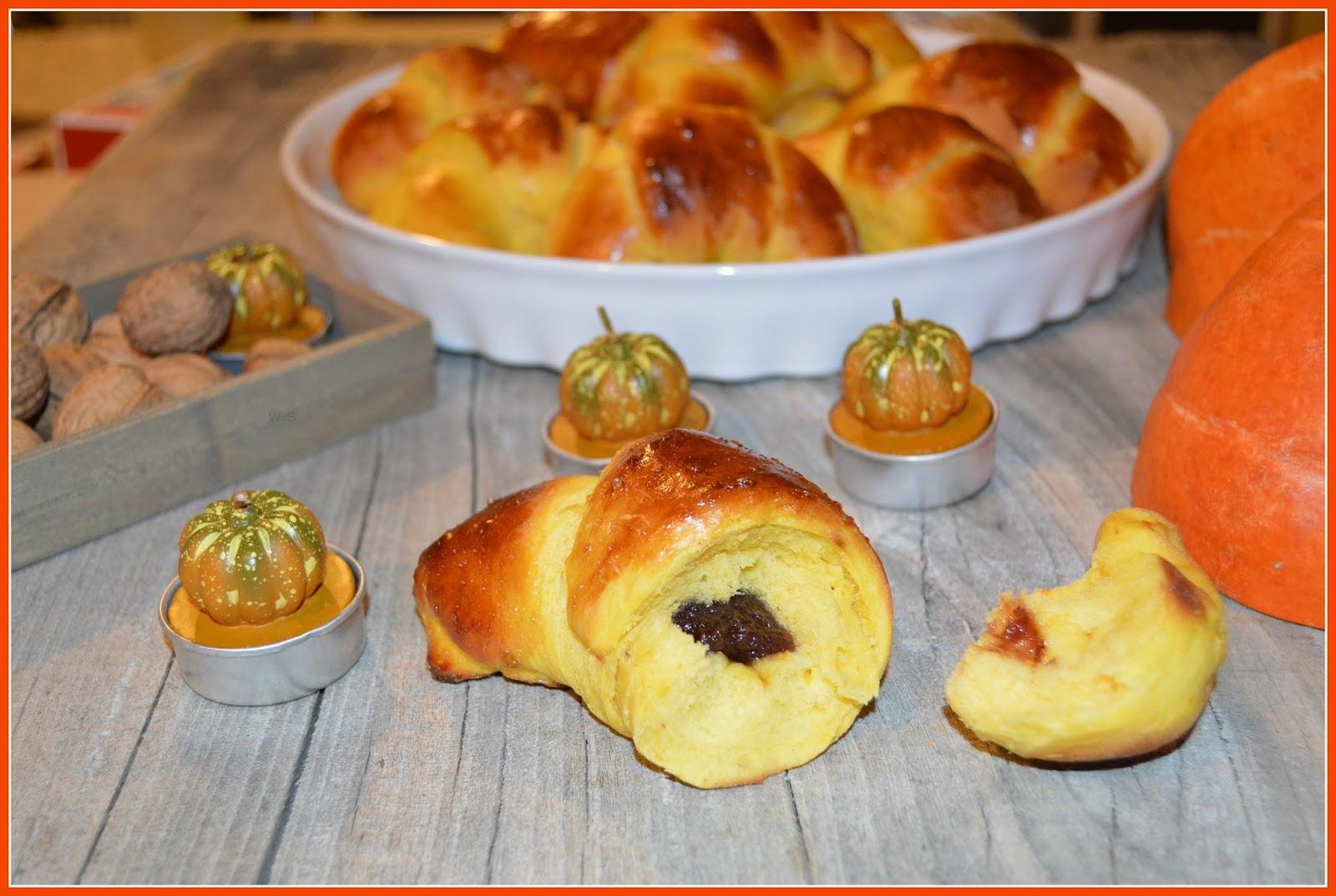Puszyste Rogaliki Z Dynia I Marmolada Z Dynia Kulinaria