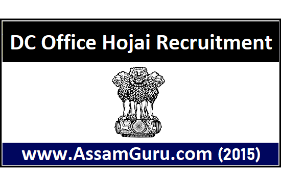 DC Office Hojai Job 2020