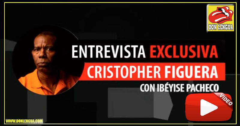 Ibelise Pacheco entrevista a Chistopher Figuera  ex-Director del Sebin