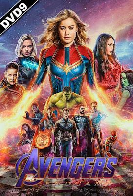 Avengers Endgame 2019 DVD9 + DVD5 R2 PAL SPANISH
