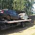 Operação para remoção de veículos em estado de abandono em Santa Rita e Estrela