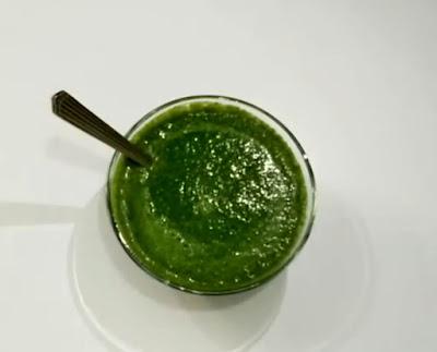 Bhel Puri Green Chutney Recipe
