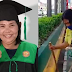 Streetsweeper mum from Batangas showed us the value of education as she graduated from college
