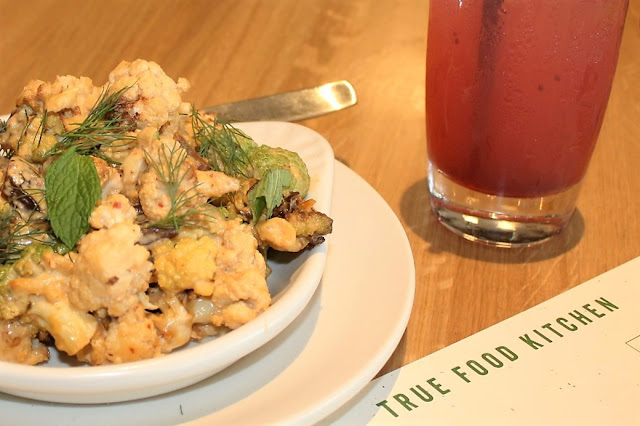 True Food Kitchen Charred Cauliflower