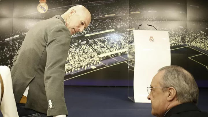 Real Madrid clarify Zidane's exit: We have to respect his decision